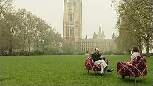 Armando Iannucci talks to Kirsty Wark about his new political comedy film In The Loop.
