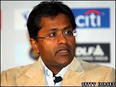 IPL commissioner Lalit Modi