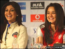 Shilpa Shetty and Preity Zinta