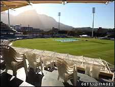 Newlands Cricket Ground in Cape Town