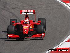 Ferrari suffered a frustrating day in Shanghai