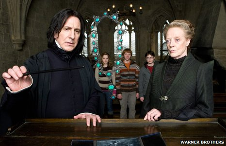 Scene from Harry Potter