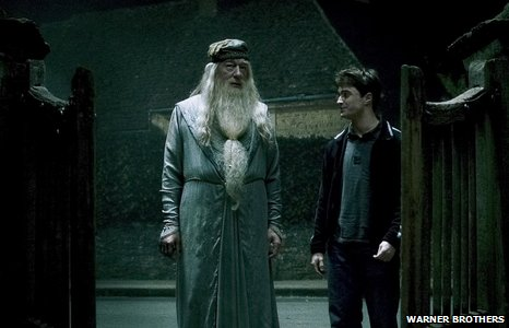Dumbledore and Harry Potter