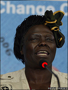 Wangari Maathai (Getty Images)