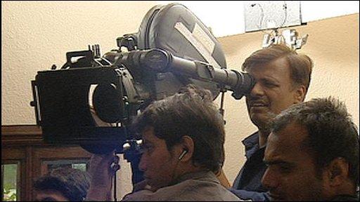 Bollywood crew