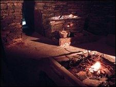 Internal view of Skara Brae