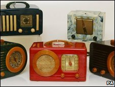 Various radios being auctioned