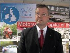 Manx tourism minister Martin Quayle