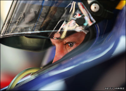 21-year-old Sebastian Vettel shines in his Red Bull