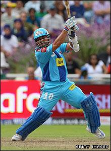 Sachin Tendulkar batting in Cape Town