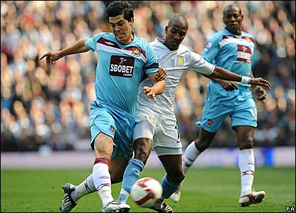 James Tomkins, West Ham United; Ashley Young, Aston Villa