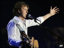 Sir Paul McCartney at Coachella