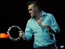 Morrissey at Coachella