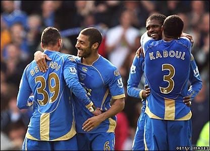 Portsmouth celebrate