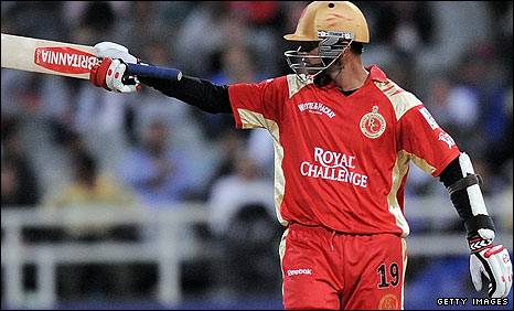 Bangalore are indebted to former India captain Rahul Dravid, whose 66 sees them to a score of 133-8