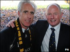 Mick McCarthy and Steve Morgan