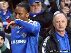 Drogba had an unhappy start to the season under Scolari