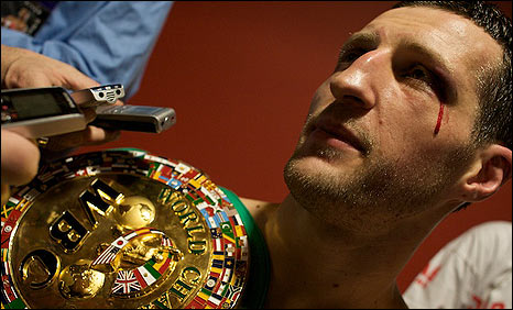 Carl Froch (pic: Justin Mckie)