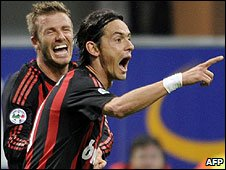 Beckham and Inzaghi