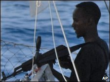 A Somali pirate