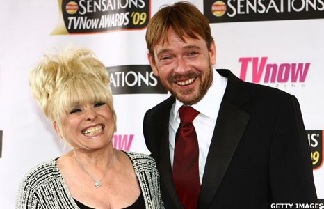 Barbara Windsor and Adam Woodyatt