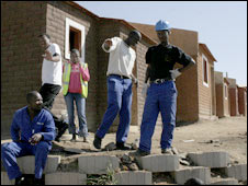 Homes being built in Alexandra