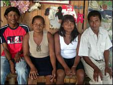 Lola Emberto and family