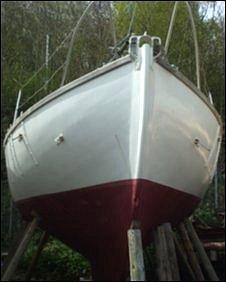 Suhaili, the jacht that sailed around the world