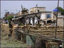 Hangu suicide attack site