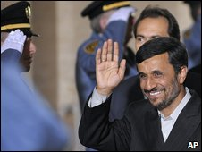 Mahmoud Ahmadinejad in Geneva