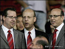 Joel, Avram and Bryan Glazer
