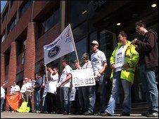 Belfast Visteon workers at KPMG