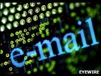 E-mail graphic
