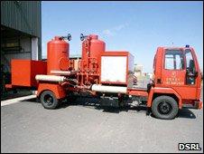 Dounreay fire engine