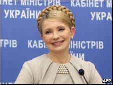 Prime Minister of Ukraine Yulia Tymoshenko