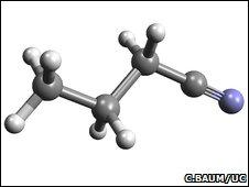n-Propyl cyanide (C3H7CN)