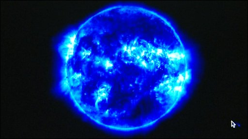 Image of the Sun (Solar and Heliospheric Observatory)