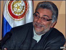 Paraguay President Fernando Lugo (file)