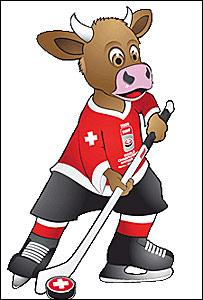 Талисман ЧМ-2009 по хоккею. Фото с сайта ЧМ-2009