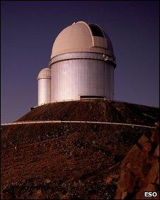 La Silla 3.6m telescope dome (Eso)