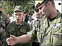 Наблюдатели ОБСЕ в зоне грузино-осетинского конфликта