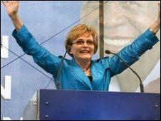 Helen Zille in Cape Town