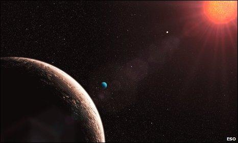 Exoplanet artist impression (Eso)