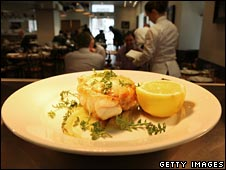 Gastopub serves up monkfish, freshly caught in Cornwall