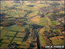 Aerial view of Milltimber [Pic: Ian K. Hardie]