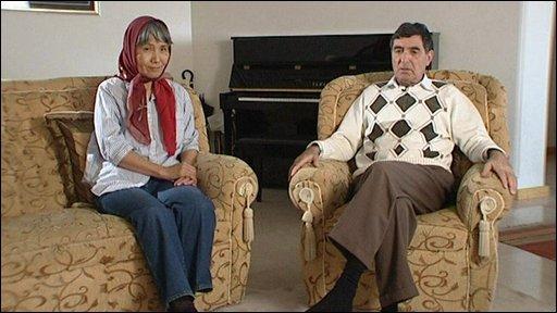 Akiko and Reza Saber