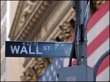 Street sign on Wall Street, New York