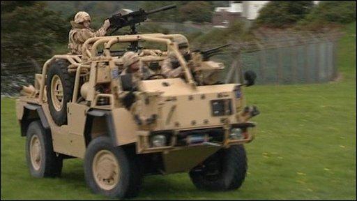 Jackal 2 vehicle