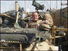 Colour Sergeant Michael Saunders