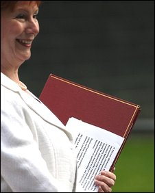 Hazel Blears with file